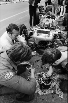 Graham Hill, Lotus y Colin Chapman