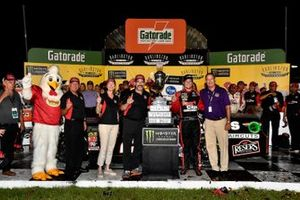 1. Erik Jones, Joe Gibbs Racing, Toyota Camry Sport Clips Throwback