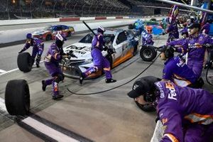 Denny Hamlin, Joe Gibbs Racing, Toyota Camry FedEx Darlington Throwback