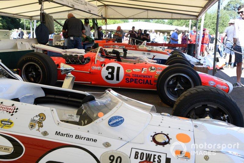 Автомобиль Lotus 38 Джима Кларка, «500 миль Индианаполиса» 1967