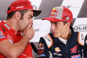 Danilo Petrucci, Ducati Team, Marc Márquez, Repsol Honda Team
