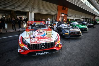 #00 Goodsmile Racing Mercedes-AMG GT3: Adam Christodoulou, Tatsuya Kataoka, Nobuteru Taniguchi