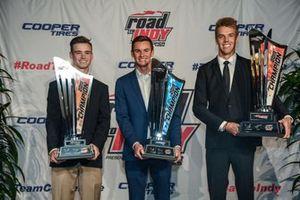 Road to Indy Champions, Braden Eves, Kyle Kirkwood, Oliver Askew