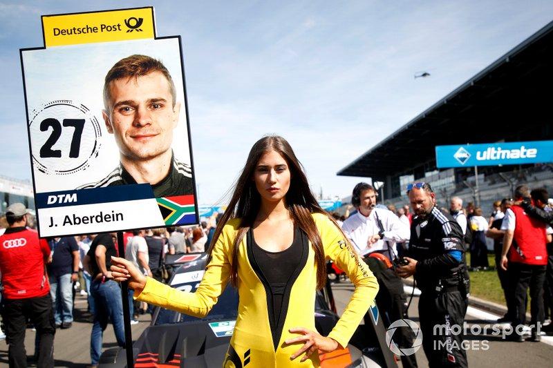 Grid girl di Jonathan Aberdein, Audi Sport Team WRT