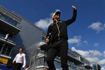 Daniel Ricciardo, Renault F1 Team, in the drivers parade