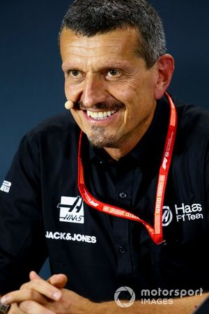 Guenther Steiner, Team Principal, Haas F1, in the Press Conference