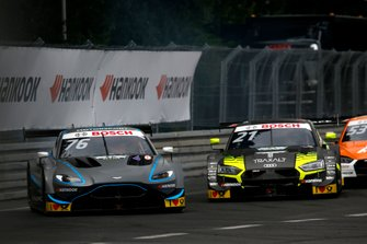 Jake Dennis, R-Motorsport, Aston Martin Vantage AMR, Pietro Fittipaldi, Audi Sport Team WRT, Audi RS 5 DTM