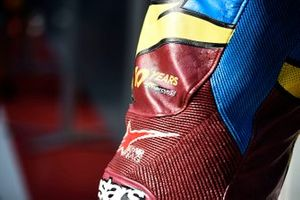 Leather detail, Marc VDS Racing