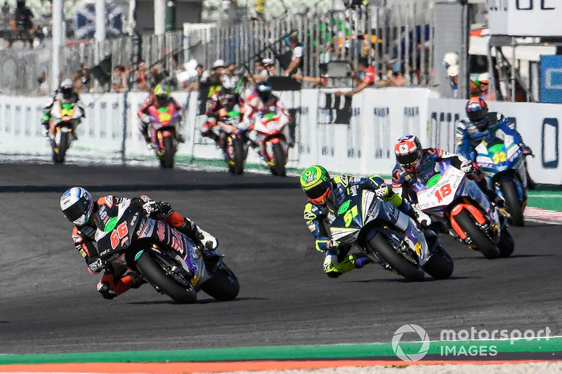 MotoE-Action in Misano