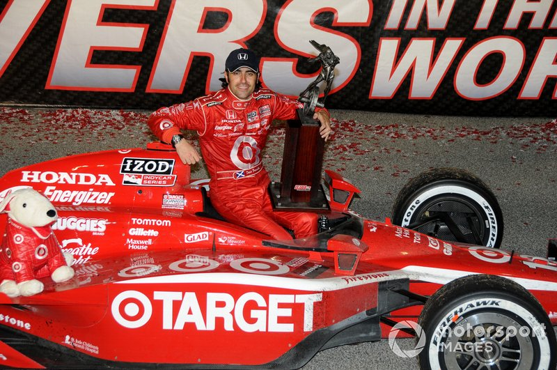 IndyCar-Champion 2010: Dario Franchitti, Chip Ganassi Racing Honda