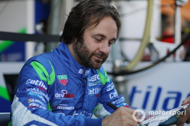 #47 Cetilar Racing, Dallara P217 -, Giorgio Sernagiotto