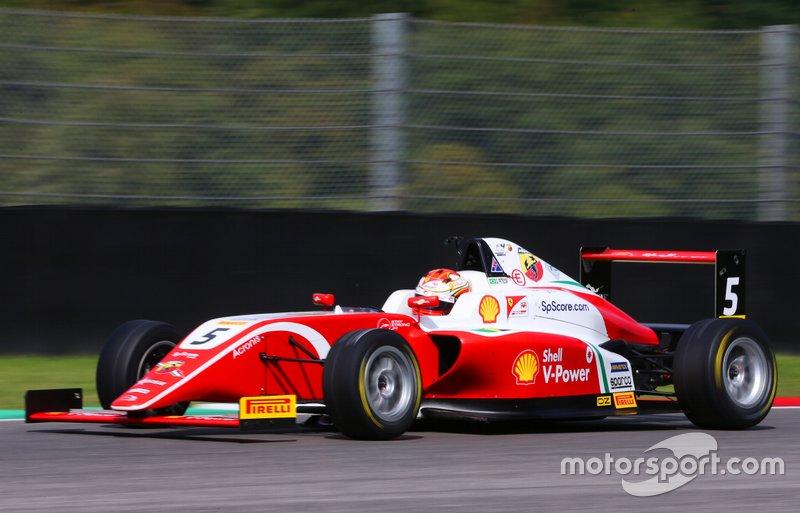 Gianluca Petecof - F4 Italiana em Mugello