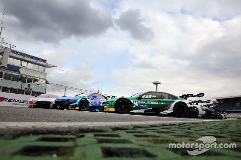 Foto di gruppo SUPER GT incontra il DTM, Marco Wittmann, BMW Team RMG, BMW M4 DTM