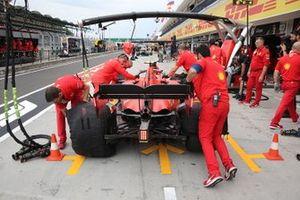 Trasera del Ferrari SF90