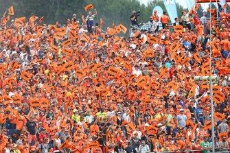 Fans en el GP de Austria de MotoGP