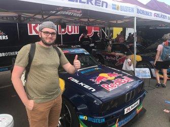 Damien, lecteur de Motorsport.com Suisse lors du Red Bull Race Day