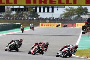 Tom Sykes, BMW Motorrad WorldSBK Team, Chaz Davies, Aruba.it Racing-Ducati Team, Jonathan Rea, Kawasaki Racing Team