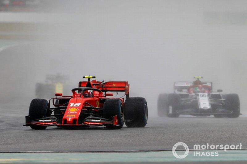 Charles Leclerc, Ferrari SF90 (não terminou)