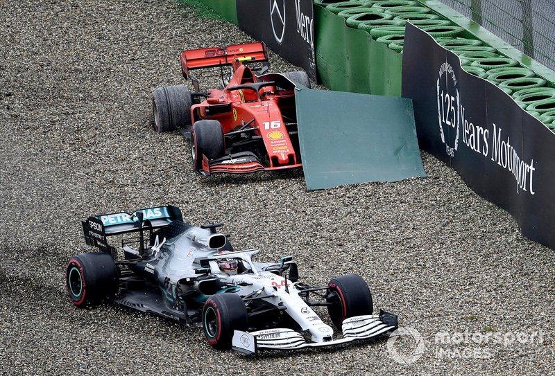 Lewis Hamilton, Mercedes AMG F1 W10, kecelakaan