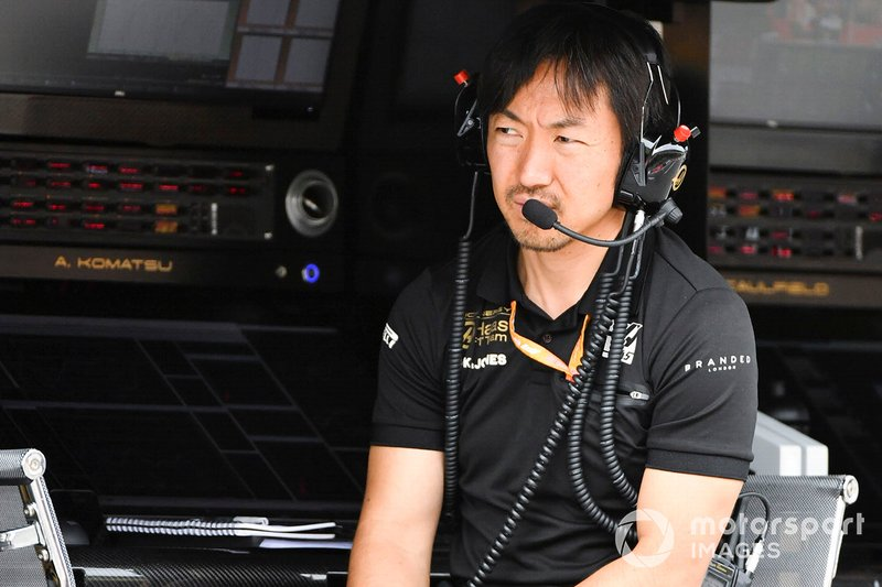 Ayao Komatsu, Chief Race Engineer, Haas F1