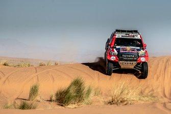 #300 Toyota Gazoo Racing Toyota Hilux: Nasser Al-Attiyah, Matthieu Baumel