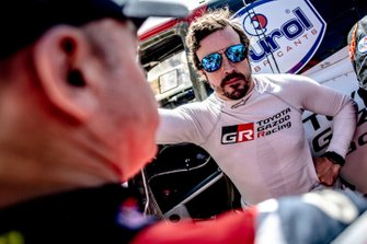 #314 Toyota Gazoo Racing Toyota Hilux: Fernando Alonso