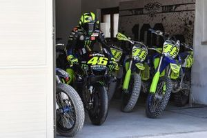Valentino Rossi, Yamaha Factory Racing at the Ranch