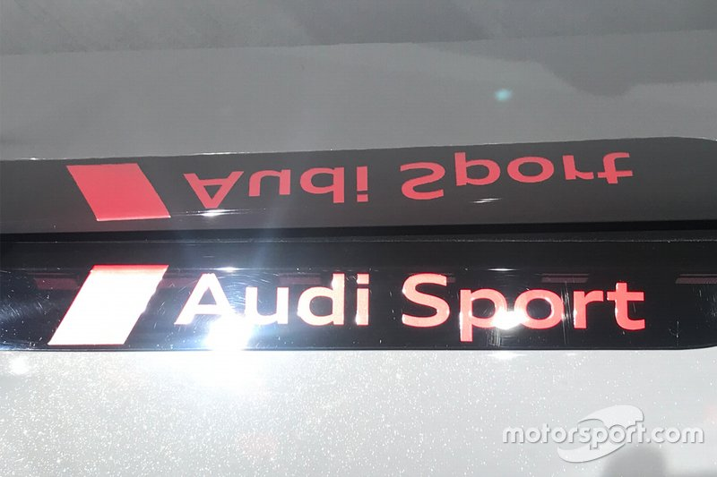 Logo Audi Sport al Salone di Francoforte