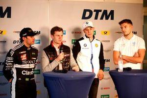 Press Conference, Pietro Fittipaldi, Audi Sport Team WRT, Jonathan Aberdein, Audi Sport Team WRTm Sheldon van der Linde, BMW Team RBM, Jake Dennis, R-Motorsport