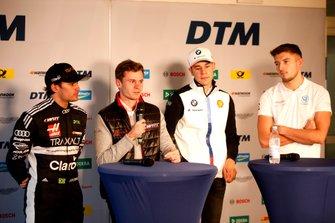 Pietro Fittipaldi, Audi Sport Team WRT, Jonathan Aberdein, Audi Sport Team WRTm Sheldon van der Linde, BMW Team RBM, Jake Dennis, R-Motorsport