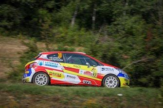 Эфрен Льярена и Сара Фернандес, Rally Team Spain, Peugeot 208 R2