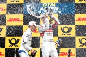 Podio: tercero, Nico Müller, Audi Sport Team Abt Sportsline