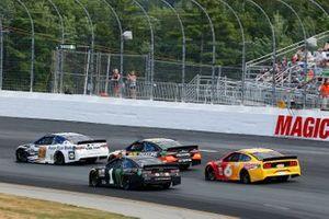 Kurt Busch, Chip Ganassi Racing, Chevrolet Camaro Monster Energy and Chase Elliott, Hendrick Motorsports, Chevrolet Camaro Kelley Blue Book