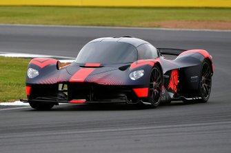 El Aston Martin Valkyrie en Silverstone