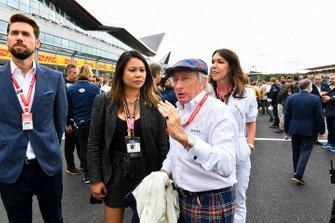 Sir Jackie Stewart, drievoudig F1-kampioen