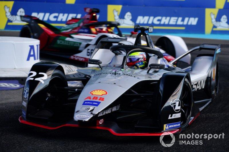 Oliver Rowland, Nissan e.Dams, Nissan IMO1 Daniel Abt, Audi Sport ABT Schaeffler, Audi e-tron FE05