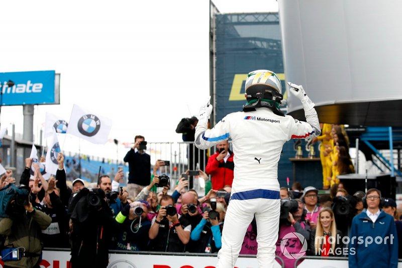 Ganador de la carrera Marco Wittmann, BMW Team RMG