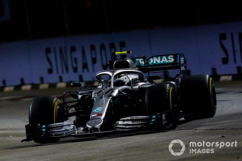 5 - Valtteri Bottas, Mercedes AMG W10