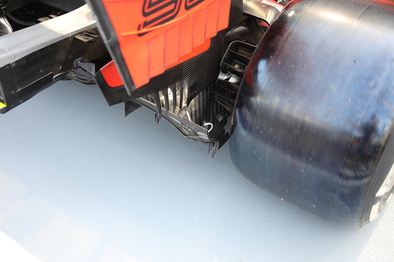 Ferrari SF90, rear detail