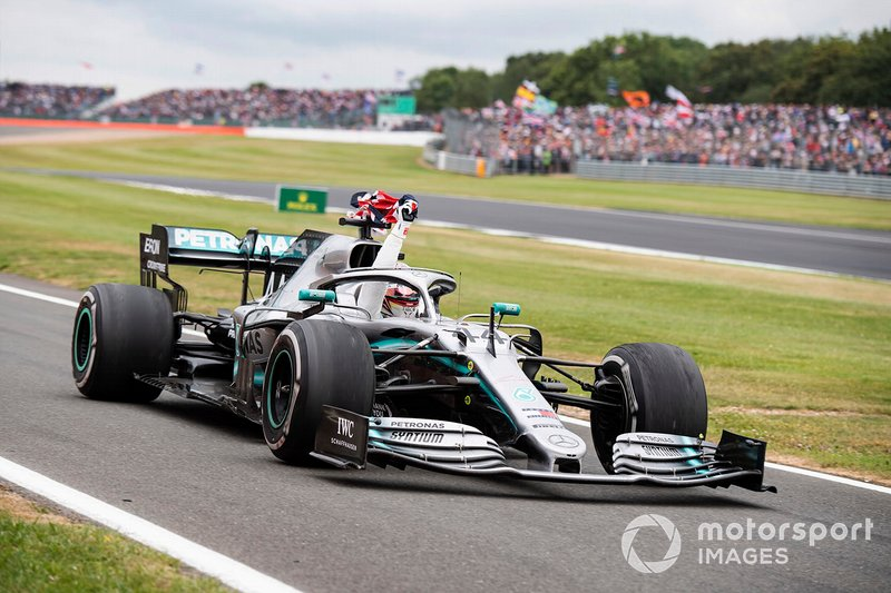 British GP: Lewis Hamilton, Mercedes