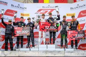 Podium: Race winner #88 Akka ASP Team Mercedes-AMG GT3: Vincent Abril, Raffaele Marciello, second place #4 BLACK FALCON Mercedes-AMG GT3: Luca Stolz, Maro Engel, third place #63 GRT Grasser Racing Team Lamborghini Huracan GT3 Evo: Christian Engelhart, Mirko Bortolotti