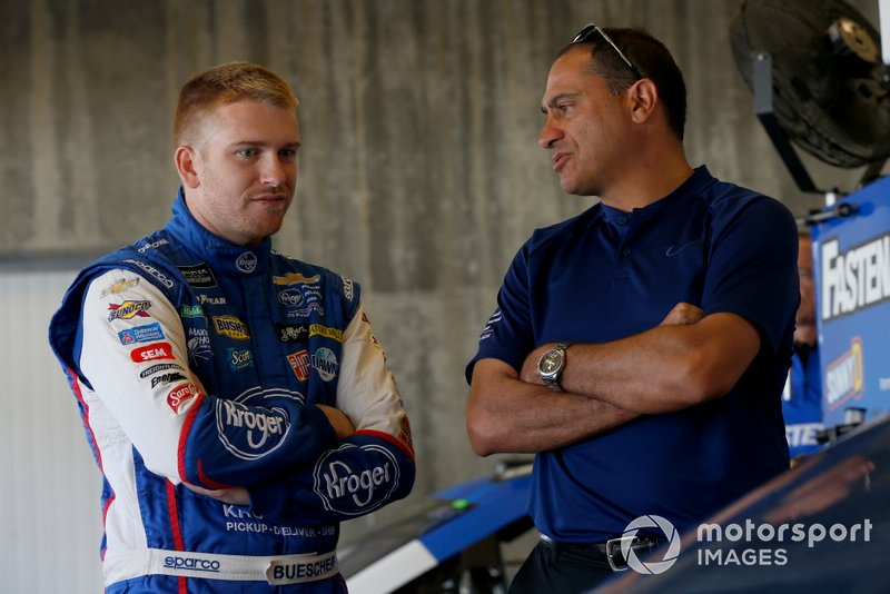Chris Buescher, JTG Daugherty Racing, Chevrolet Camaro Kroger Fast Lane to Flavor