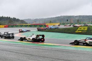 Oliver Rasmussen, HWA Racelab, Ido Cohen, Carlin BUZZ RACING and Laszlo Toth, Campos Racing