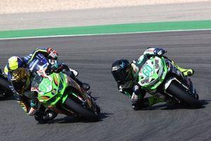 Adrian Huertas, MTM Kawasaki, Dirk Geiger, RT Motorsports by SKM - Kawasaki