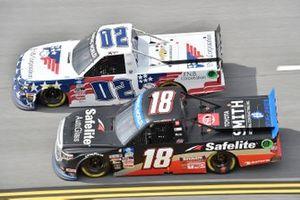 Kris Wright, Young's Motorsports, Chevrolet Silverado First National Bank, Chandler Smith, Kyle Busch Motorsports, Toyota Tundra Safelite AutoGlass