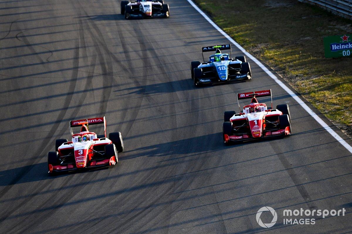 Olli Caldwell, Prema Racing e Dennis Hauger, Prema Racing
