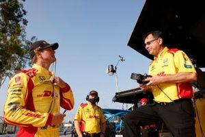 Ryan Hunter-Reay, Andretti Autosport Honda, crew member