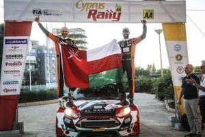 عبدالله الرواحي يحرز المركز الثالث في رالي قبرص 2021