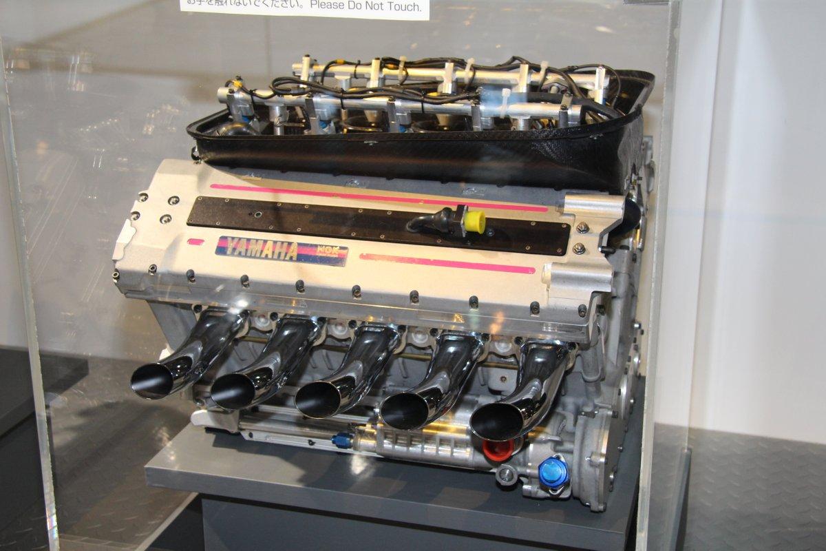 1997_Yamaha V10 Formula 1 Engine Type OX11A for Arrows