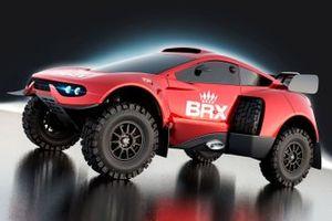 El BRX Hunter T1+ del Bahrain Raid Xtreme para el Dakar 2022